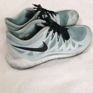 Nike Shoes | Baby Blue Sneakers | Poshmark